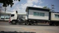 Trailer truck video