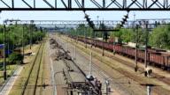 Train departure video