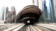FAST MOTION: Train in Dubai video