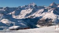 HD: Train in The Swiss Apls video