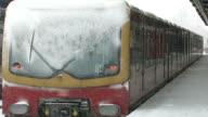 Train in the wintertime video