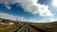 Train journey at Eastern Anatolia video