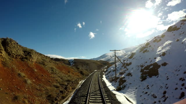 Train journey at Eastern Anatolia video