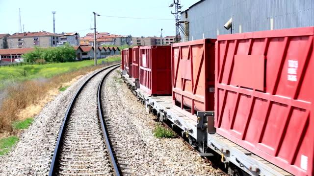 Train journey - station video