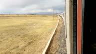 Train journey video