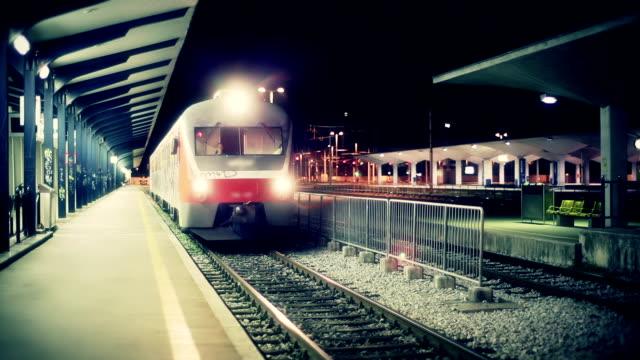 HD - Train leaving station video