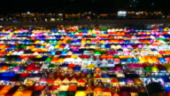 Train Night Market, Bangkok video