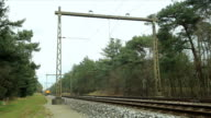 Train passing with sound video