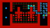 Train puzzle, retro style low resolution pixelated game graphics animation, level 37 video