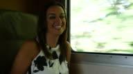 Train ride video