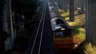 Train Run On Rail video