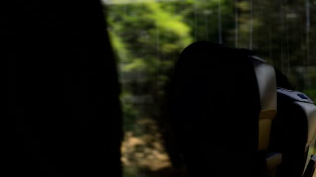 Train seats video