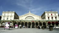Train station in Paris, France video