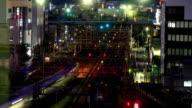 Train tracks time lapse video