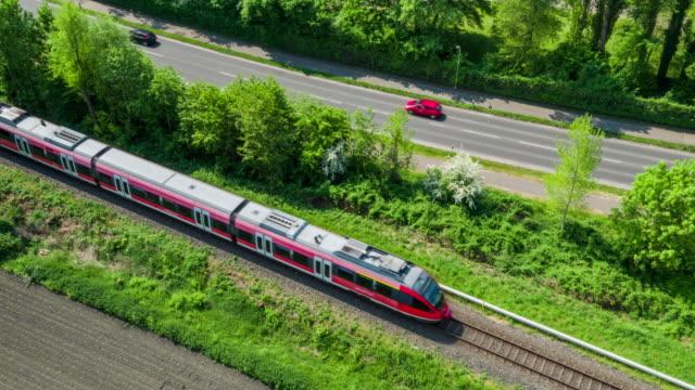 AERIAL: Train video