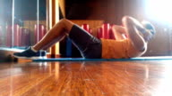 Training abdominal muscles video