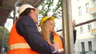Training among scaffolding video