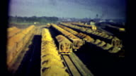 (1950s 8mm Vintage) Trainyard Iron Ore video