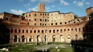 Trajan's Markets and Forum in Rome video
