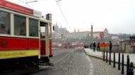 Tram in Prague video