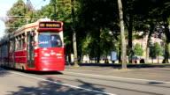 Tram in The Hague video