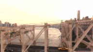 NYC Tram View of 59th Street Bridge video