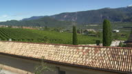 HD Tramin and the Surrounding Vineyards video