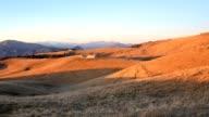 Tramonto panoramico in Lessinia video