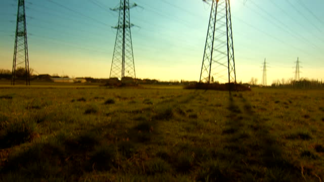 Transmission Towers video