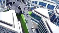 Transport hub video