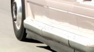 Transport Truck On Freeway video