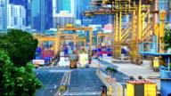 transshipment port video