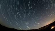 Transylvania Turzii Gorge north star trails time lapse video