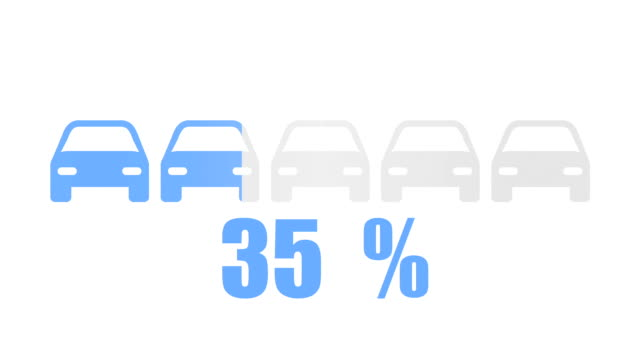 Travel and transport inforgraphic design element video