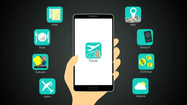 Travel application function for smart phone,mobile video
