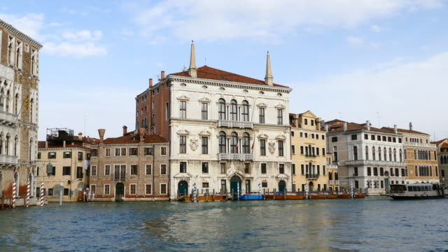 4K Travel on Grand canal in Venice, Italy video