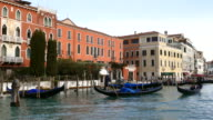 4K Travel on Grand canal, Venice, Italy video