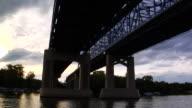 travel under bridge video