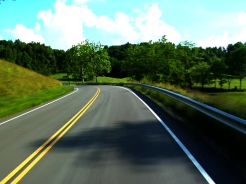 Traveling Along Road video