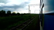 Traveling by Passenger Train. video