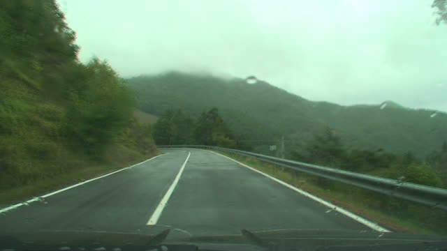 Travelling in South Italy under the rain video