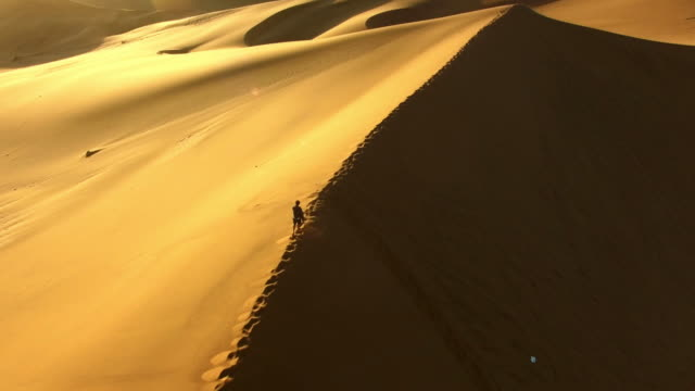 Traversing the spine of the dune video