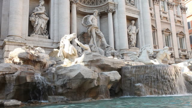 Trevi fountain video