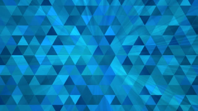 Triangle Polygon Background video