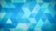 Triangle Polygon Loop 01 Winter video