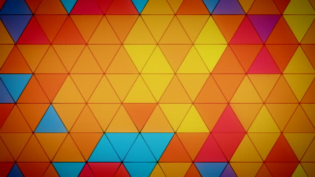 Triangle Polygon Loop 03 Summer video
