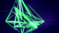 Triangulate, Looping Background video