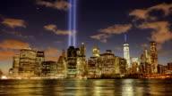 Tribute in light in Manhattan video