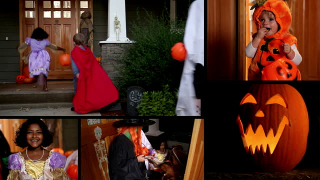 Trick or Treat / Halloween Video Montage video