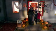 HD CRANE: Trick Or Treating video